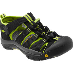 Keen Newport H2 Sandals Kinder black/lime green